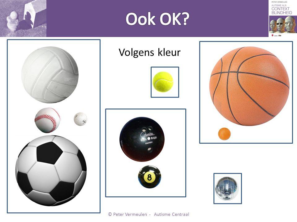 Volgens kleur © Peter Vermeulen - Autisme Centraal