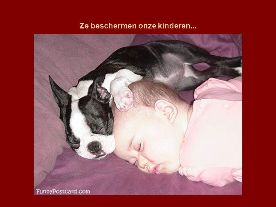 Ze beschermen onze kinderen...