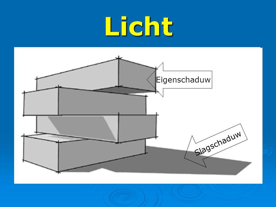 Licht Eigenschaduw Slagschaduw