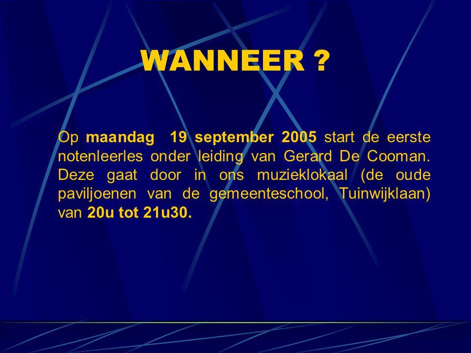 VOOR MEER INFO: www.harmonieherzele.be info@harmonieherzele.be
