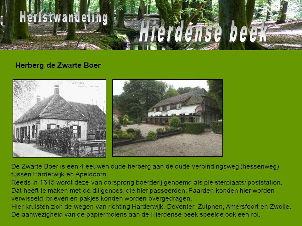 De Zwarte Boer is een 4 eeuwen oude herberg aan de oude verbindingsweg (hessenweg) tussen Harderwijk en Apeldoorn. Reeds in 1615 wordt deze van oorspr