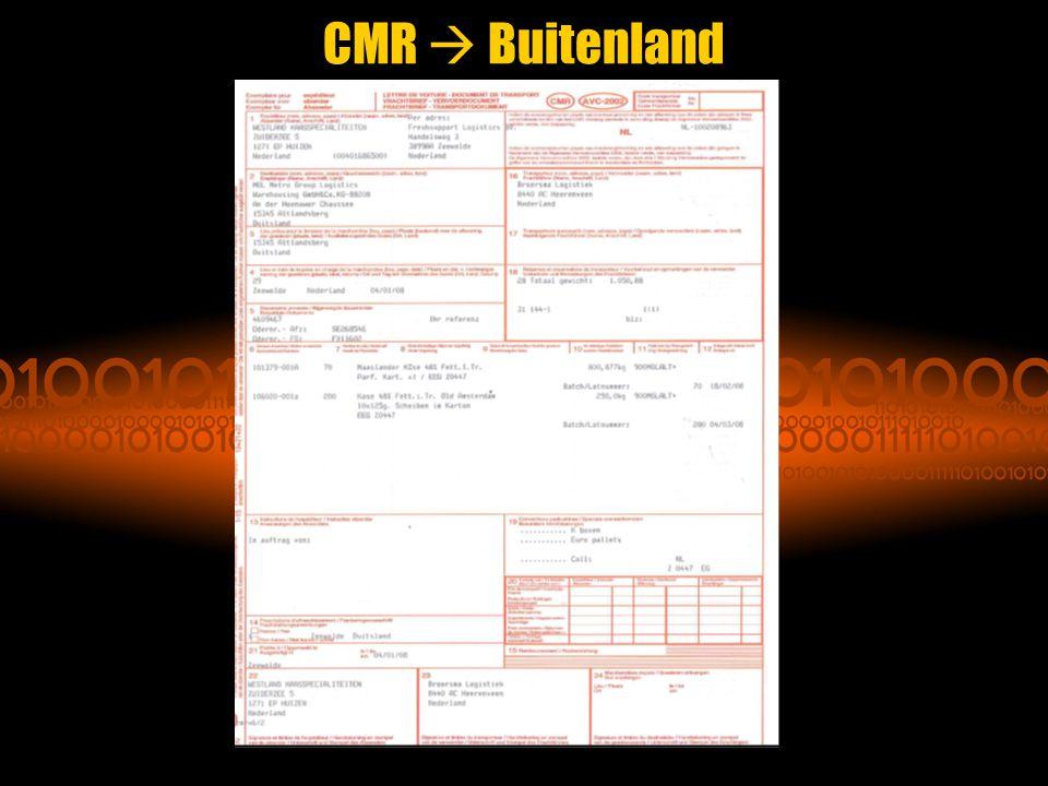 CMR  Buitenland