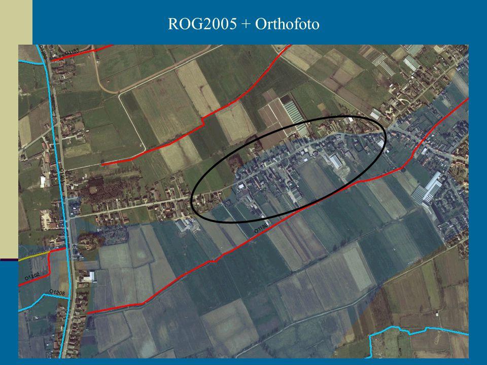 14/05/2007 Dirk Van den Hauwe - wateradvies in praktijk ROG2005 + Orthofoto