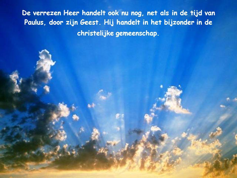 Waar de Geest van de Heer is, daar is vrijheid. Uit de tweede brief aan de Korintiërs 3, 17