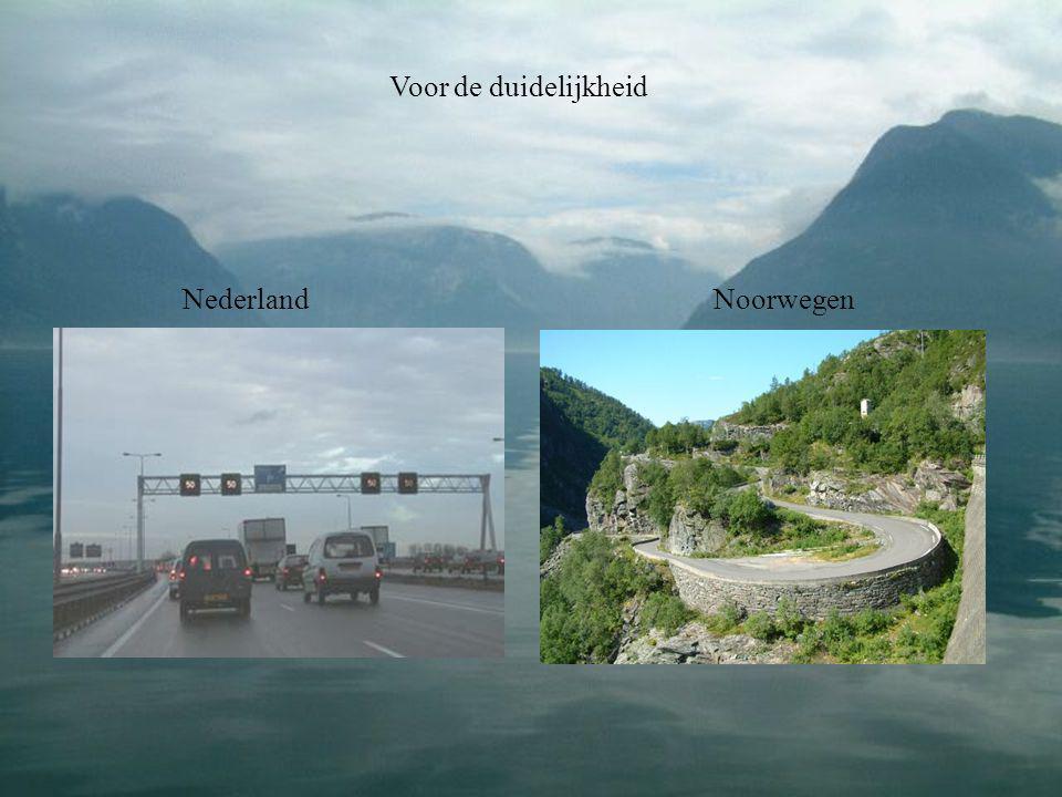 Voor de duidelijkheid NederlandNoorwegen