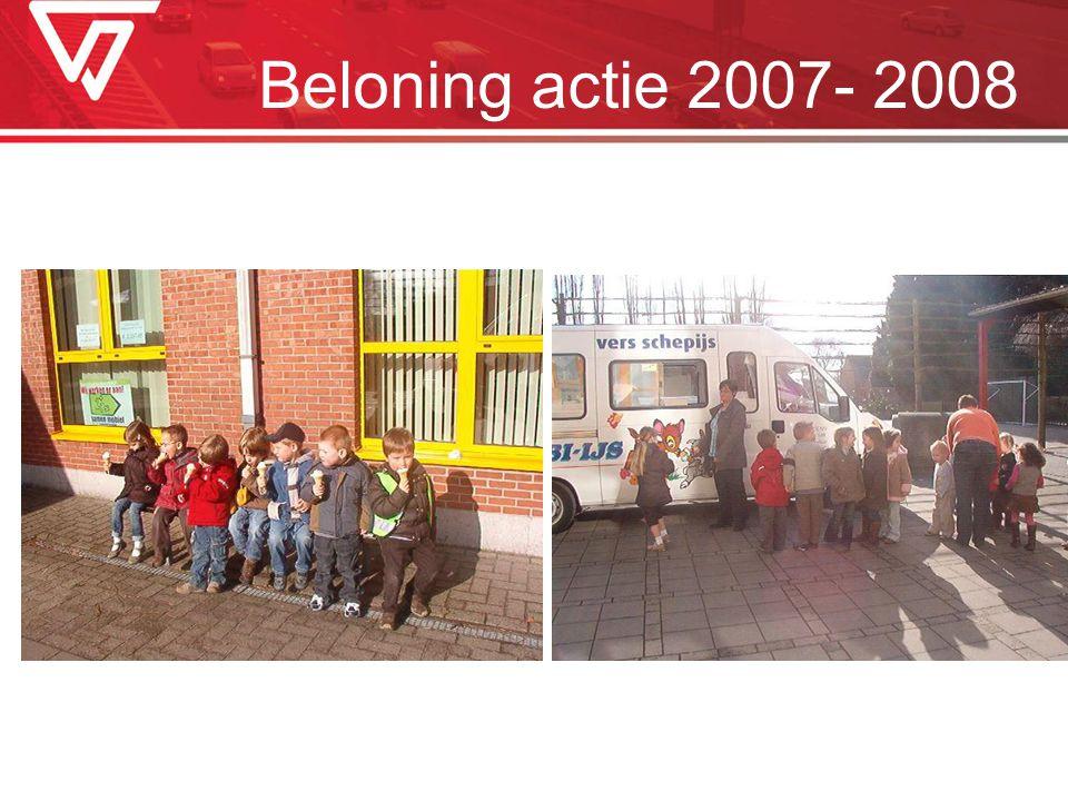 Beloning actie 2007- 2008
