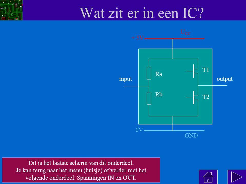 Wat zit er in een IC.
