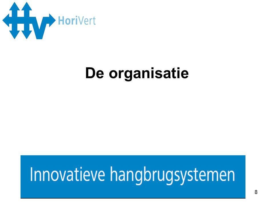 9 Montage/techniek: samenwerking met Wanders Montage BV en ICA-Logistics Verkoop: Norbert Wanders en Hans Schults Administratie/planning/kantoor: Turbinestraat 17 in Amsterdam De organisatie