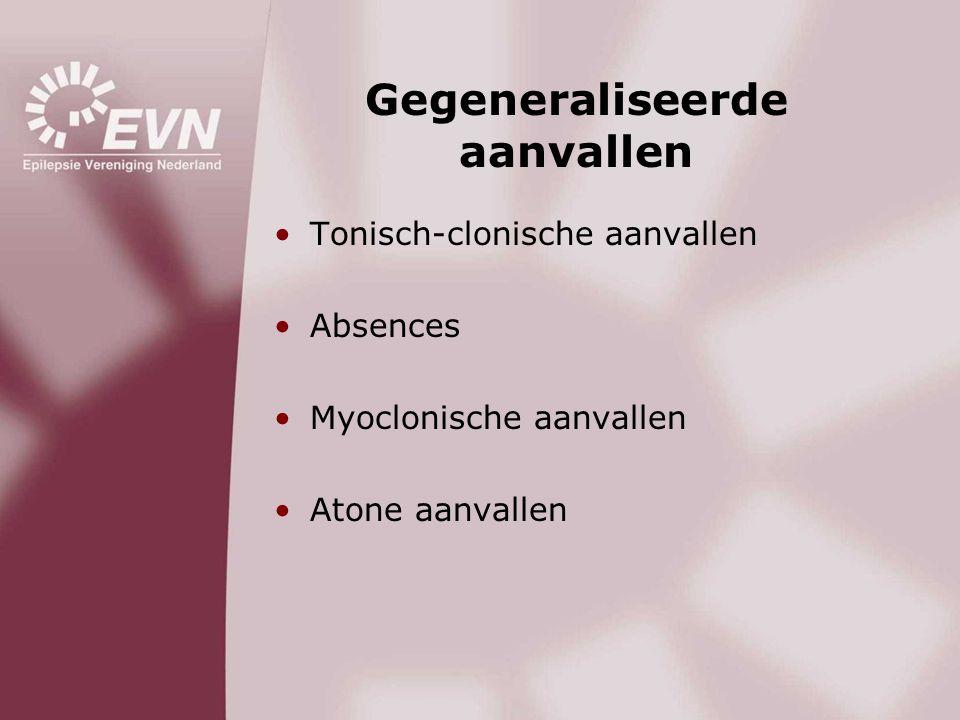 Oorzaken epilepsie •Aangeboren hersenafwijking •Hersentumor •Hersenbloeding of -infarct •Infectie •Hersenbeschadiging na een ongeluk •Vaak geen oorzaak •Erfelijkheid/verhoogde aanleg