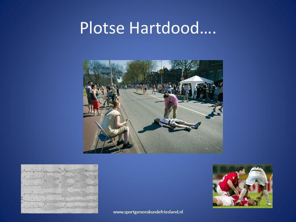 Plotse Hartdood…. www.sportgeneeskundefriesland.nl
