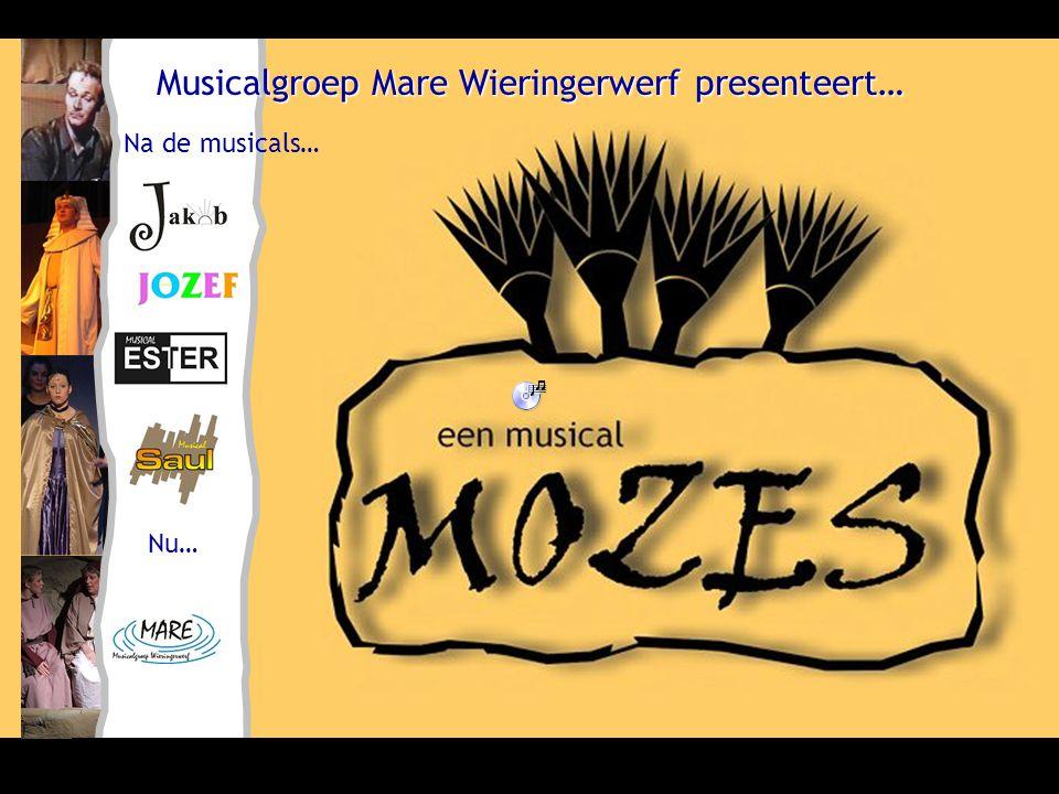 Musicalgroep Mare Wieringerwerf presenteert… Na de musicals… Nu…
