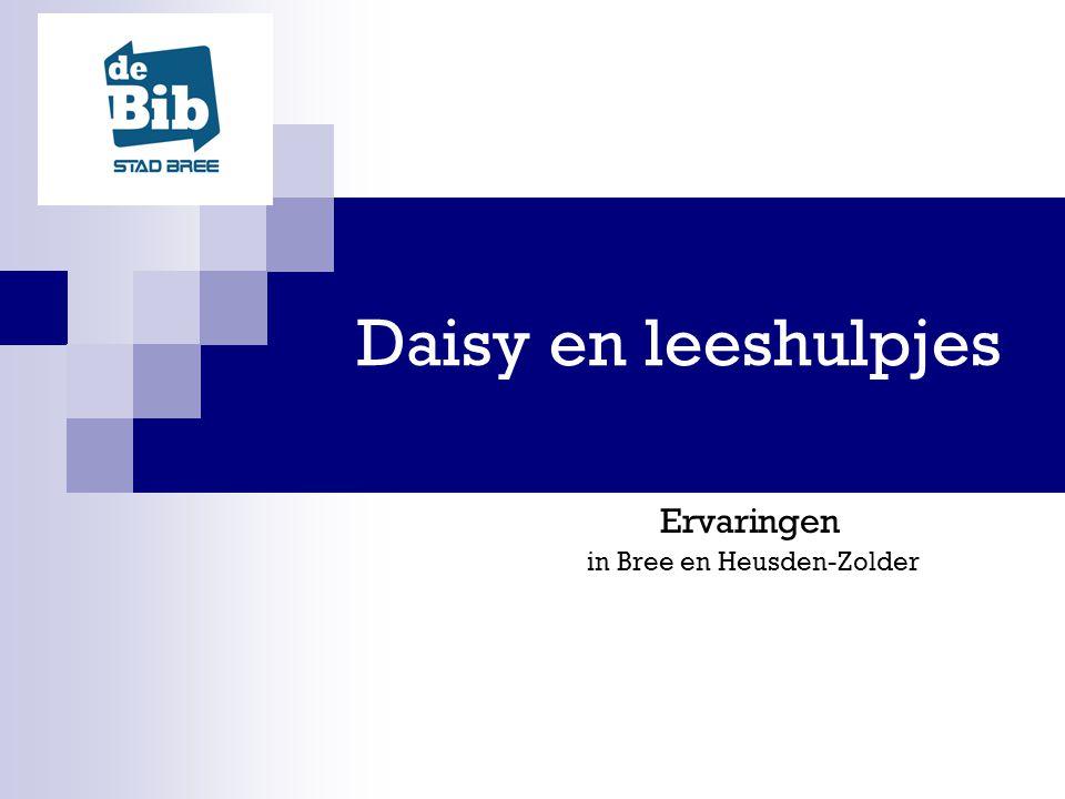 Daisy en leeshulpjes Ervaringen in Bree en Heusden-Zolder
