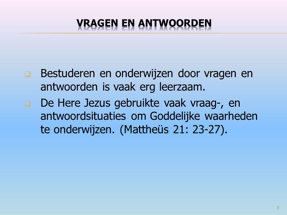 Matt 5:17-20 {Jezus en de Wet } Denk niet dat Ik gekomen ben om de Wet of de Profeten af te schaffen; Ik ben niet gekomen om die af te schaffen, maar te vervullen.