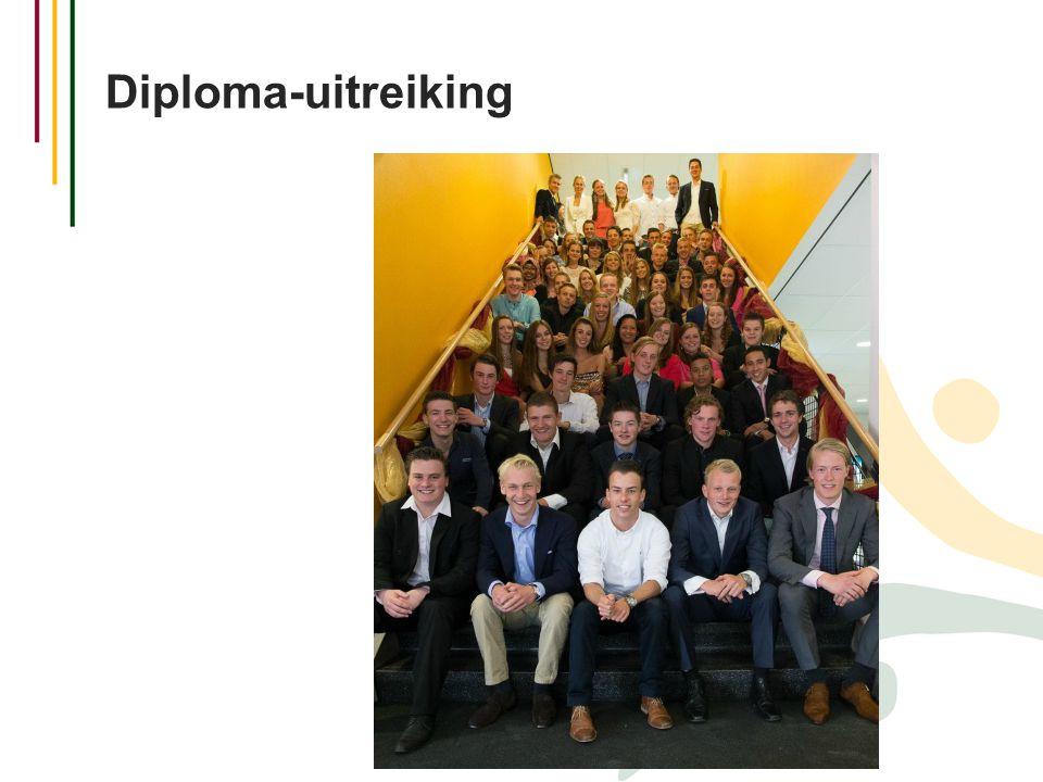 Diploma-uitreiking