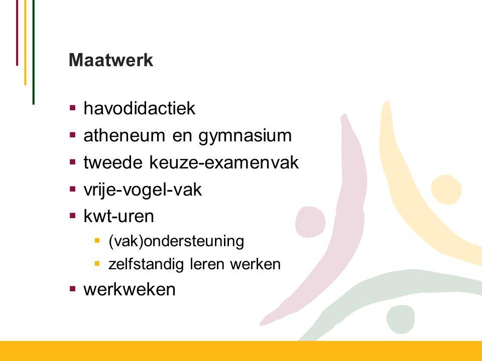 Programma van Toetsing en Afsluiting  Wat.