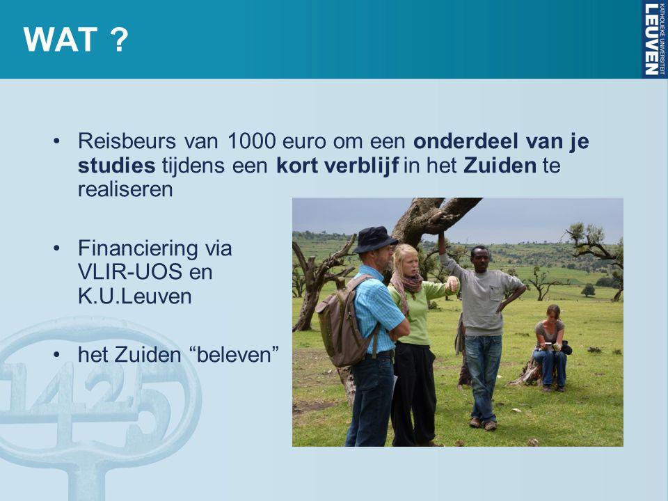 www.kuleuven.be/studenten/buitenland/reisbeurzen INFO NA DE INFOSESSIE ?