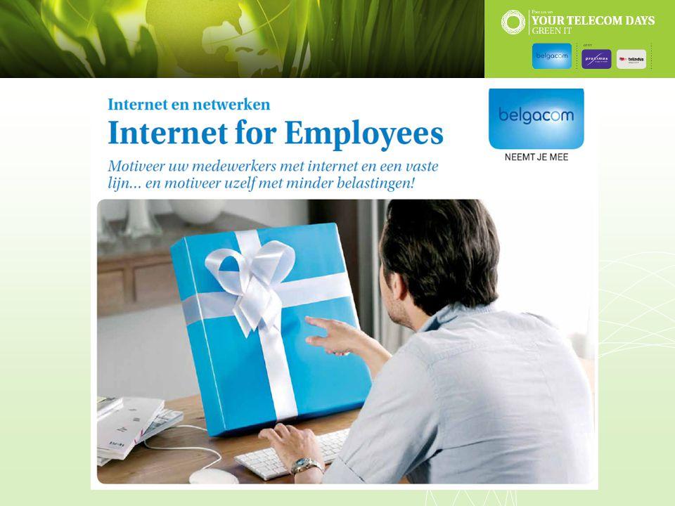 Belgacom Internet for Employees is ideaal om uw werknemers extra te motiveren
