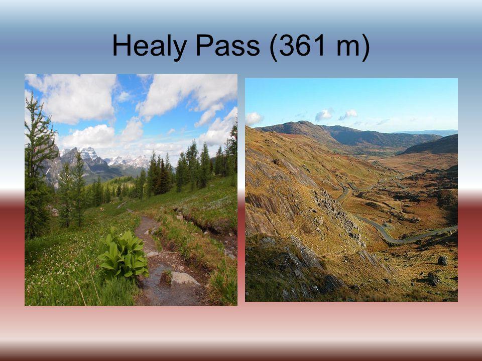 Healy Pass (361 m)