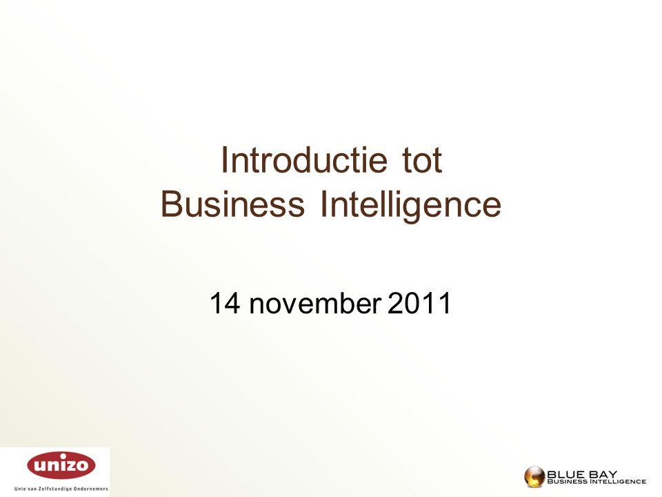 Stefan Leunis  Zaakvoerder Blue Bay  Business Intelligence Consultancy  Specialisatie in allerhande BI tools  11 jaar voor overheidsinstellingen  Alsook voor grote ondernemingen  Team van 6 experten  Sinds 2011: oplossing voor KMO markt