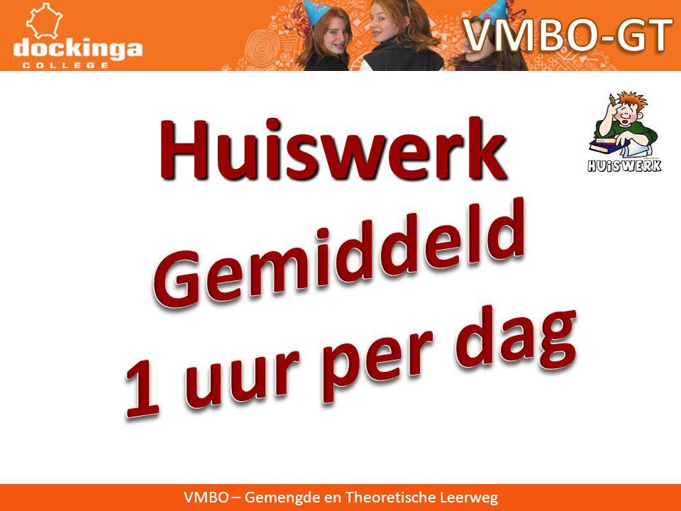 VMBO – Gemengde en Theoretische Leerweg Contact: • Mentor • Teamleider • Conciërge • Decaan • Docenten • Spreekavonden