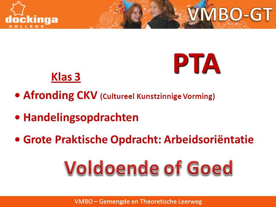 VMBO – Gemengde en Theoretische Leerweg Programma Toetsing en Afsluiting PTA • Regeling van alles wat met Schoolexamen te maken heeft • Beschrijving s
