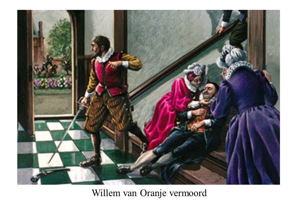 Willem van Oranje vermoord