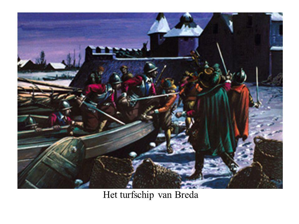Het turfschip van Breda