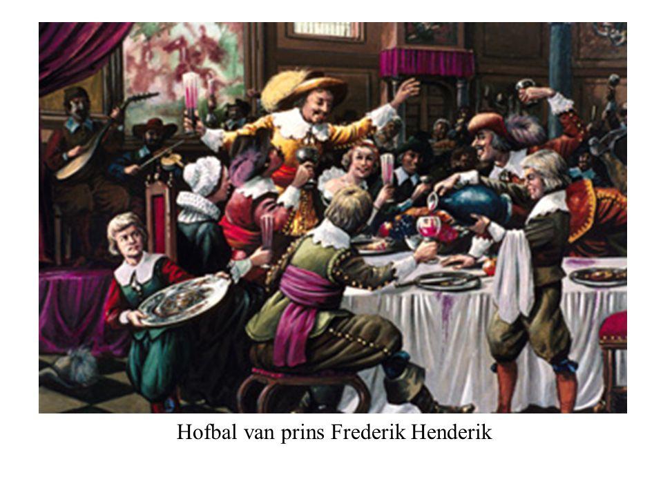 Hofbal van prins Frederik Henderik