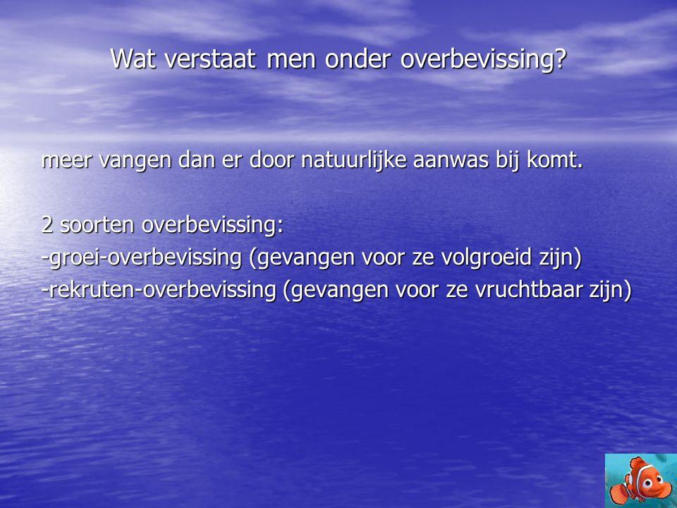 Aanbeveling aan de Nederlandse overheid • Communicatie en Samenwerking overige landen van Europa  (verbeterd volgen GVB en bereiking doelstellingen)  (verbeterd volgen GVB en bereiking doelstellingen) • Handhaving en zo mogelijk scherpere controle op visvangsten  (verbeterde navolging beleid) • Vermindering onderhandeling met vissers over beleidsvorming  (verbeterde quotavorming) • Verbetering voorlichting vissers  (verbeterde samenwerking vissers en beleidsvormers) • Financiële ondersteuning Viskwekerijen  (vermindering visserij) • Financiering onderzoek nieuwe alternatieven voor huidige vistechnieken.