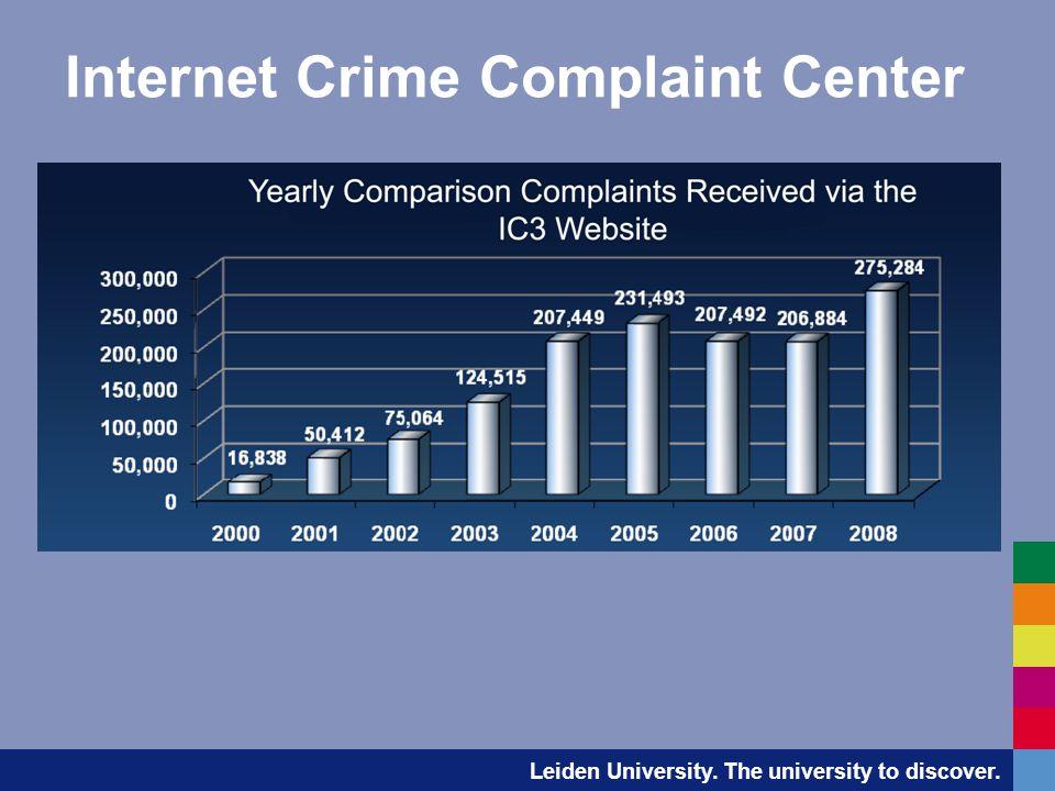 Leiden University. The university to discover. Internet Crime Complaint Center
