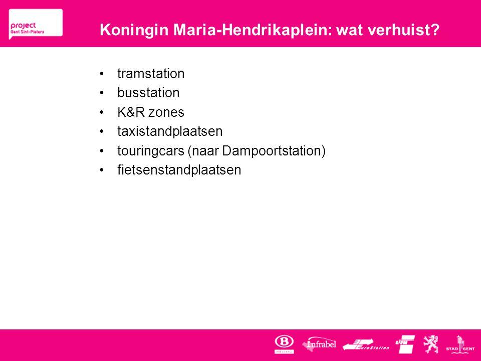 Koningin Maria-Hendrikaplein: wat verhuist.