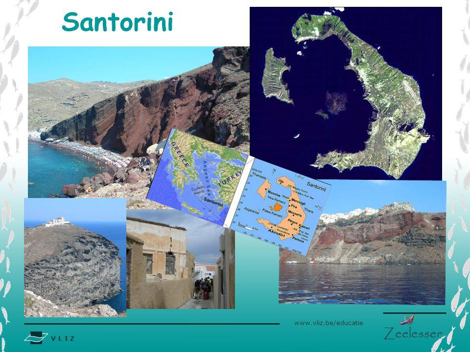 V L I Z www.vliz.be/educatie Zeelessen Santorini