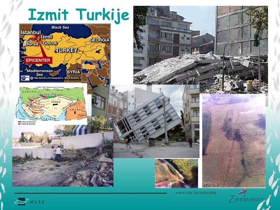 V L I Z www.vliz.be/educatie Zeelessen Izmit Turkije