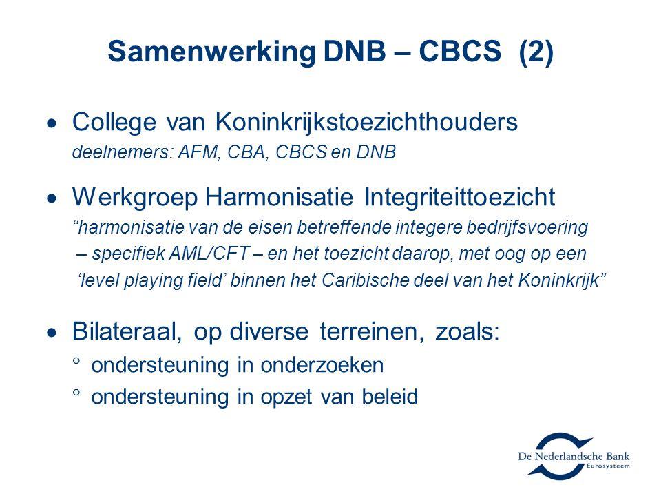 """ College van Koninkrijkstoezichthouders deelnemers: AFM, CBA, CBCS en DNB  Werkgroep Harmonisatie Integriteittoezicht """"harmonisatie van de eisen bet"""