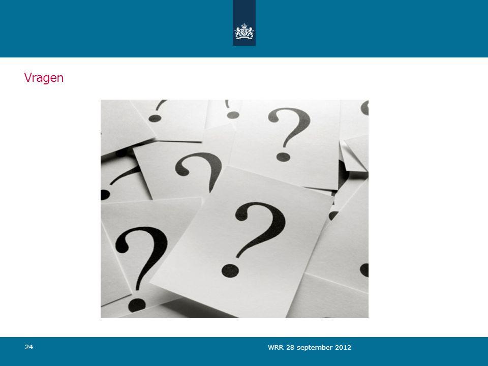 Vragen 24 WRR 28 september 2012