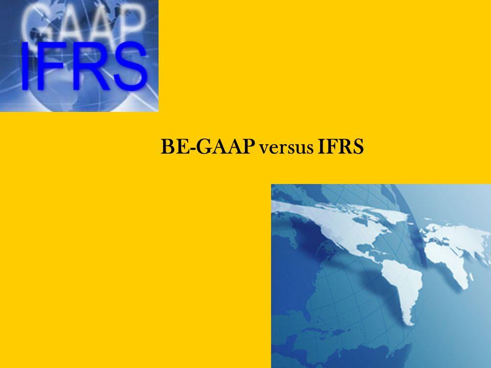 KDB Financial Services   Page22 Materiële vaste activa IFRS •Materiële vaste activa worden onder IFRS opgenomen onder de gelijknamige balansrubriek.