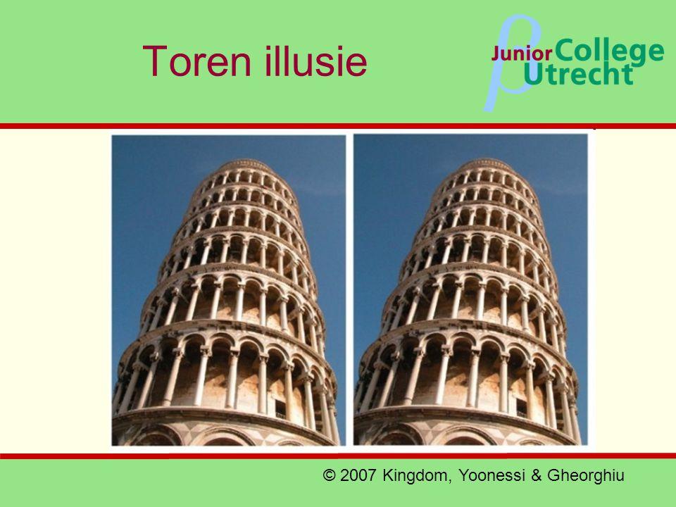 β Toren illusie © 2007 Kingdom, Yoonessi & Gheorghiu