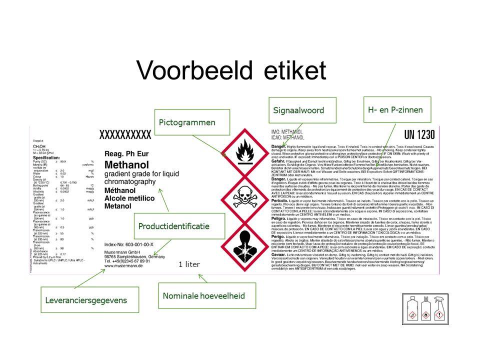 24 Voorbeeld etiket 1 liter
