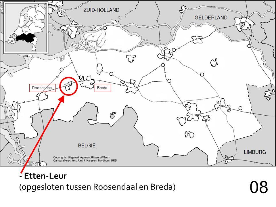 - Etten-Leur (opgesloten tussen Roosendaal en Breda) 08 RoosendaalBreda