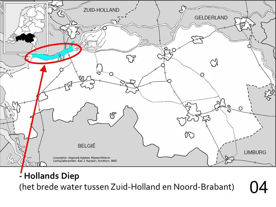 - Biesbos (nat gebied rechts van het Hollands Diep) 05 Hollands Diep