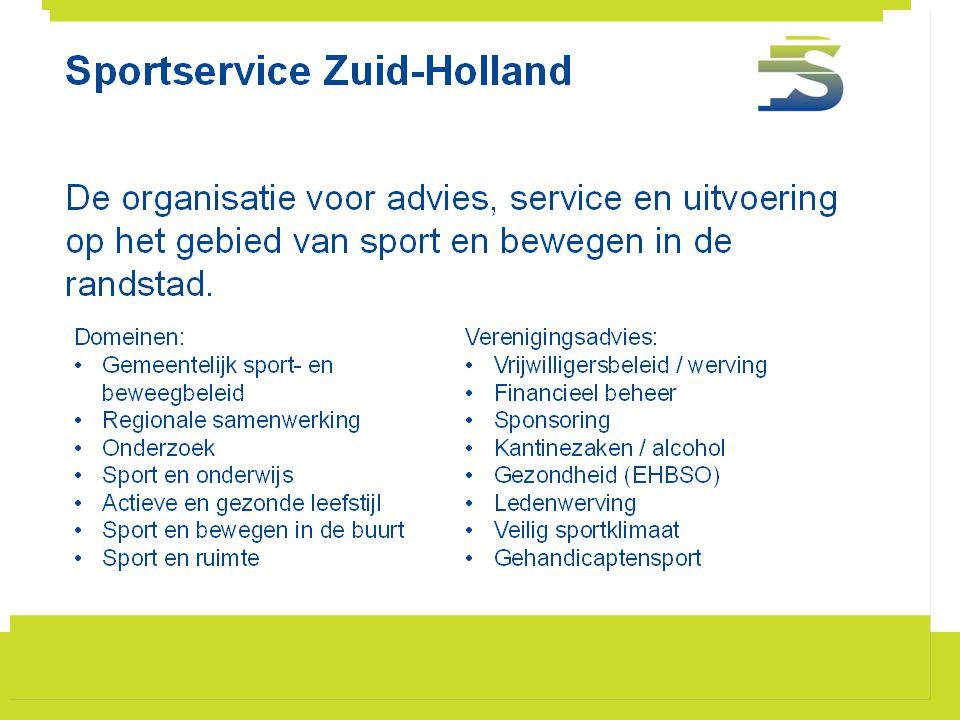Aanbevolen aanvullende huisregels •Geen alcohol drinken buiten kantine of terras (terras moet.