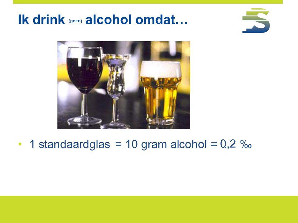 Wegenverkeerswet alcohol en verkeer • Rijden onder invloed is misdrijf: •Bij veroordeling > strafblad (gevolgen voor carrière.