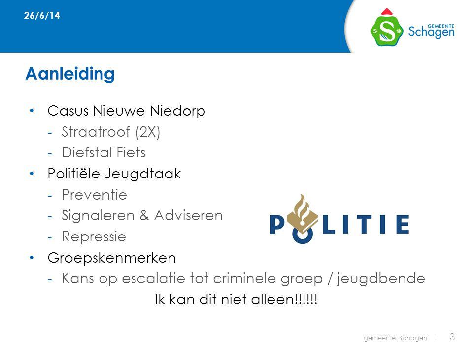 Gemeente 11-2-2014 gemeente Schagen   4 -Jeugd&Veiligheid -Verbinding met Veiligheidshuis Waarom verbinding.
