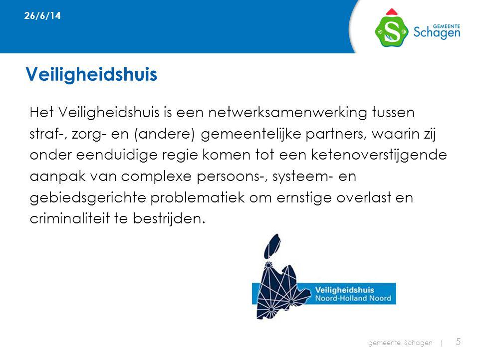 Huidige stand van zaken gemeente Schagen   16 Jan gaat naar school en werkt vier dagen in de week.