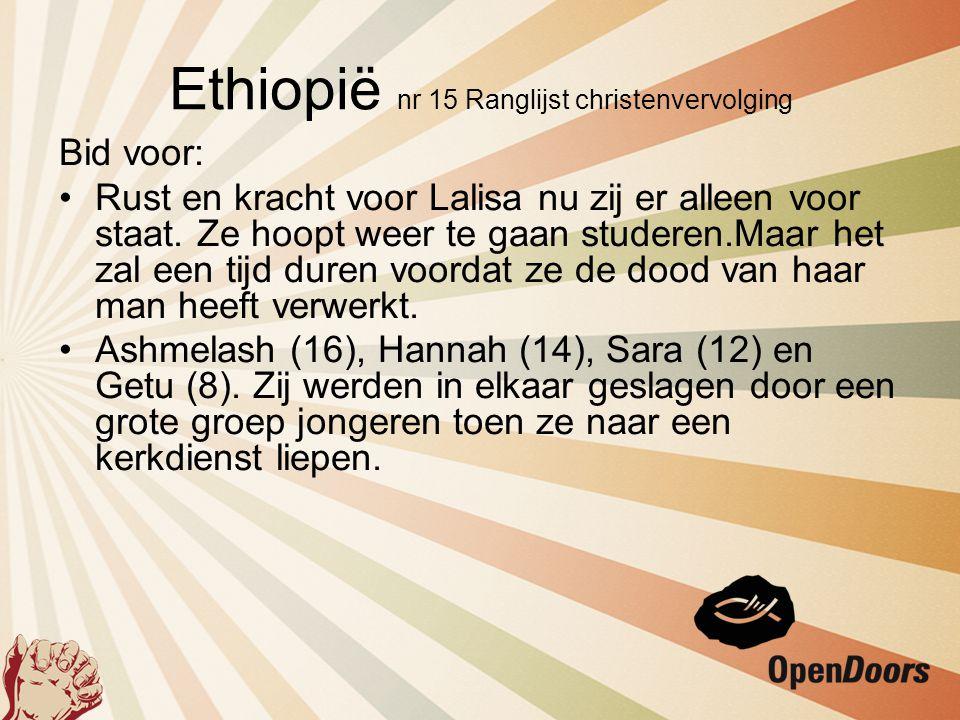 Bid voor Meer Ethiopiërs die de Here Jezus willen volgen.
