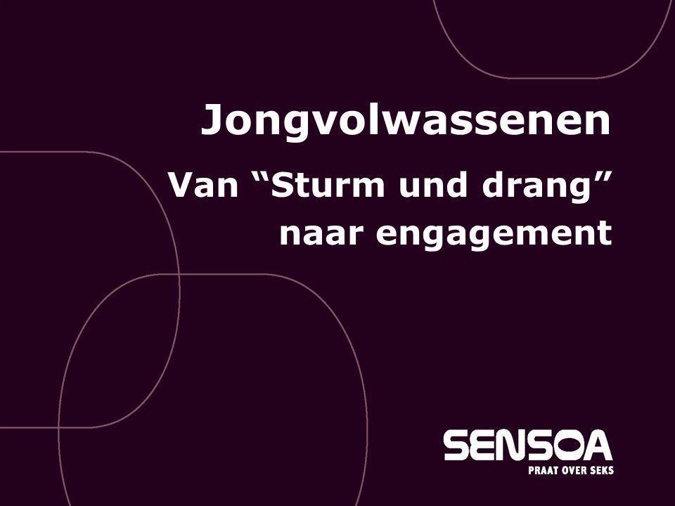 """Jongvolwassenen Van """"Sturm und drang"""" naar engagement"""
