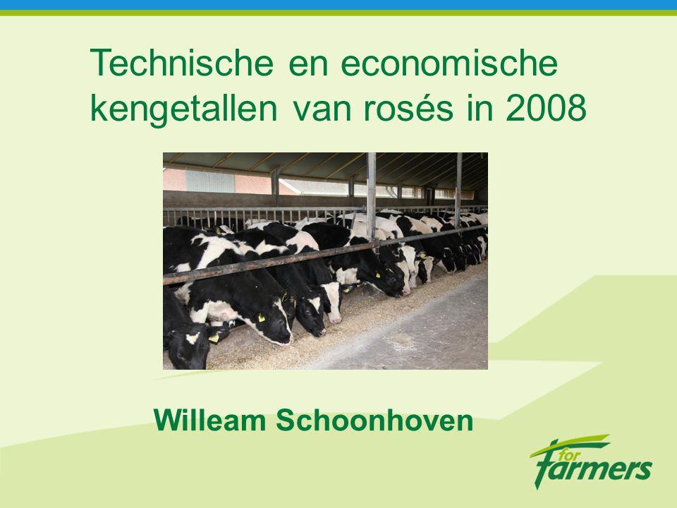 Technische en economische kengetallen van rosés in 2008 Willeam Schoonhoven