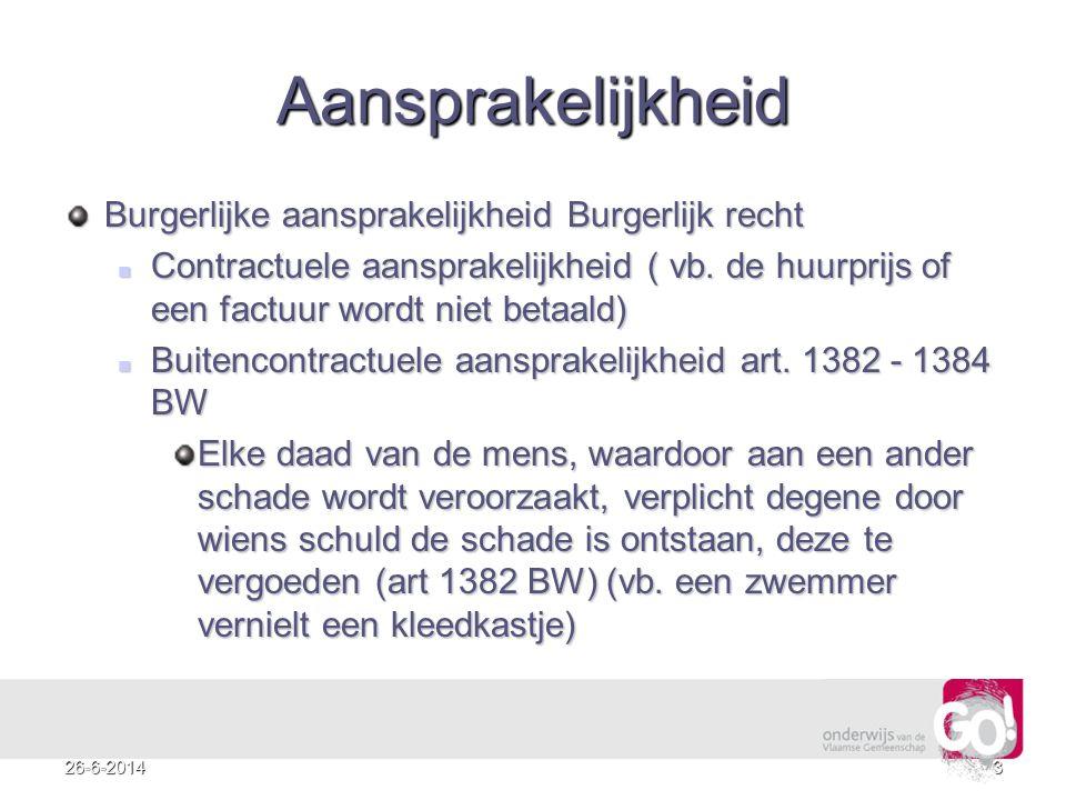 1426-6-2014 Voorbeeld 3 – Schaar In beroep valt er een ander verdict.
