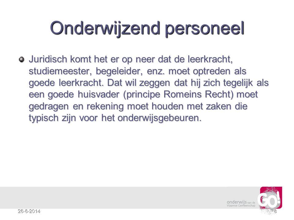 926-6-2014 Enkele tips Zet een leerling nooit uit de klas zonder toezicht.