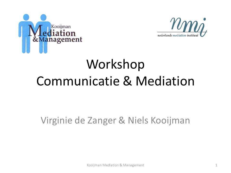 Mislukte communicatie Kooijman Mediation & Management12